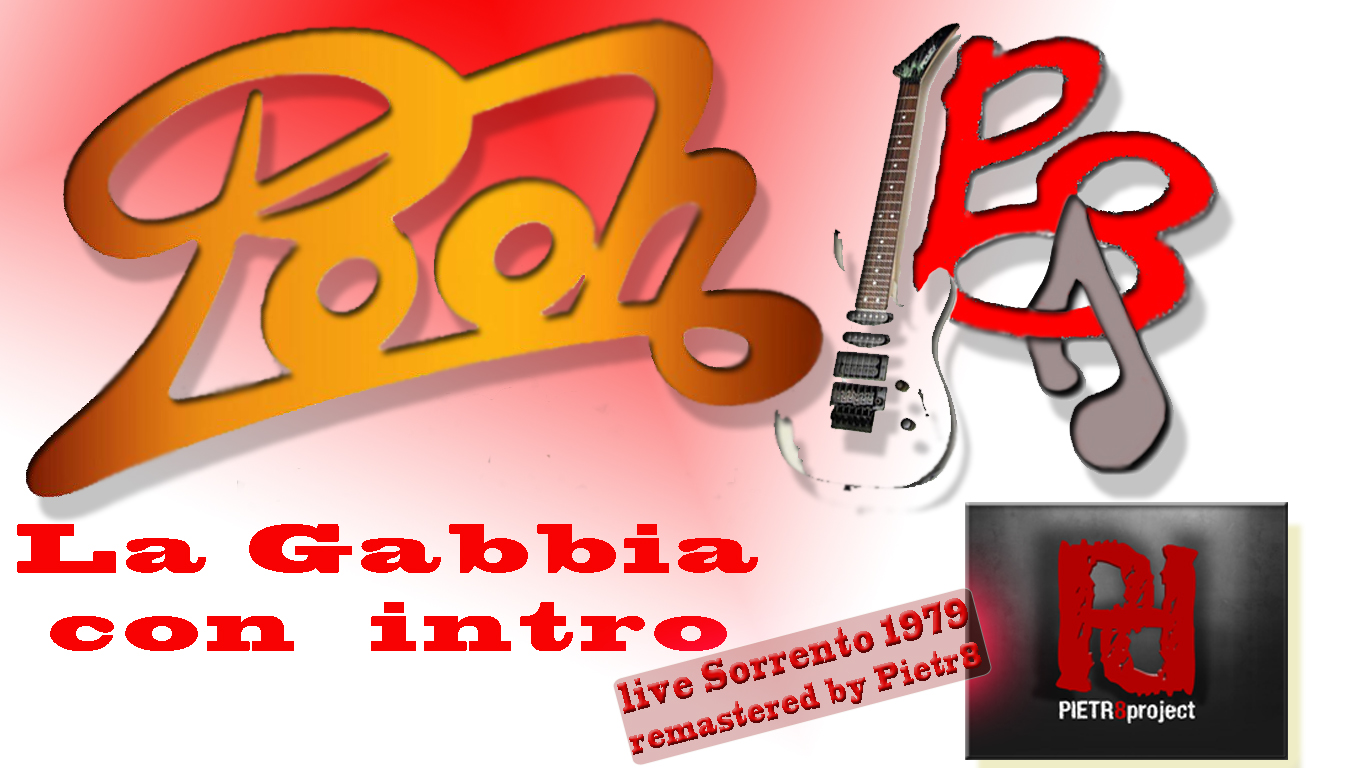 La Gabbia + intro versione audio rara 1979 Tour Viva Sorrento remastered by Pietr8